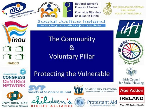 Community and Voluntary Pillar Graphic