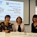 Ronnie Fay, Roisin Shortall and Sara Burke speakers Health as a Human Right Seminar
