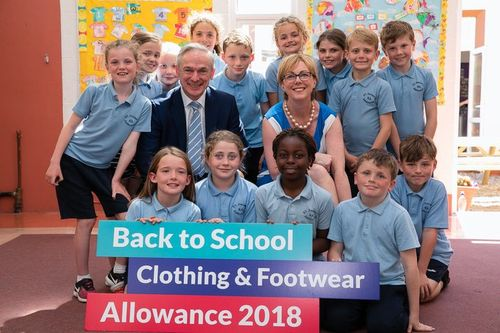 Clothing and Footwear Allowance for 2018